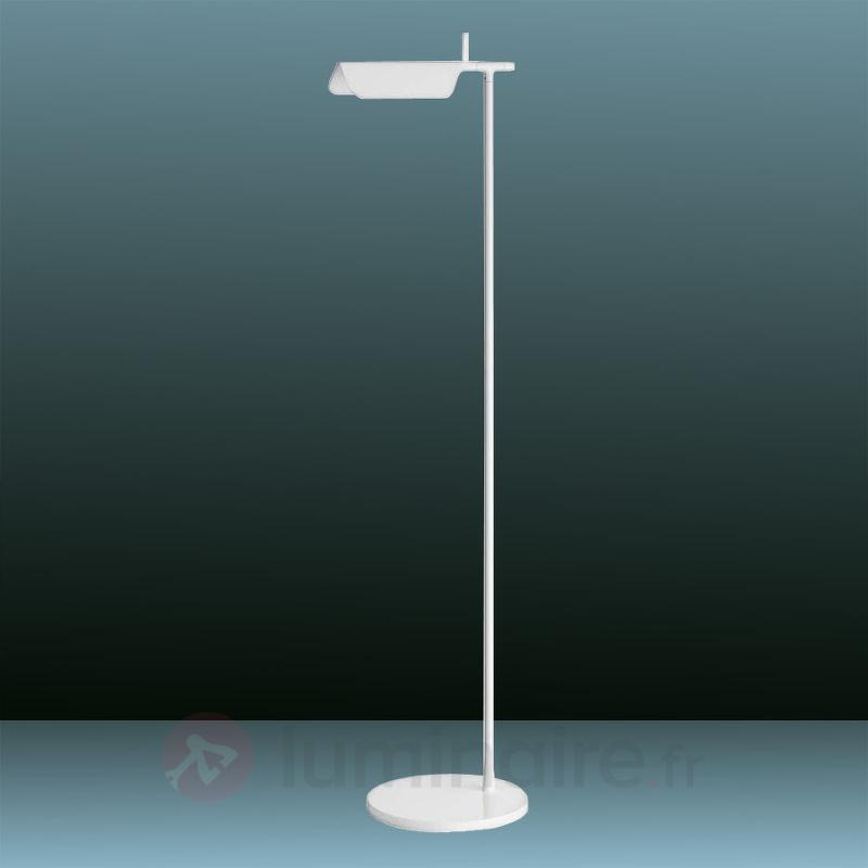 Lampadaire puriste LED TAB F blanc - Lampadaires LED