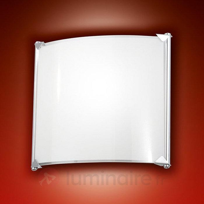 Applique LED sobre Brixi, blanc chaud - Appliques LED