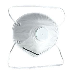 Masque anti-poussière avec valve - Style: Boucle de tête Matériel: Melt-soufflé, papier de fil, pp non-tissé Couleu