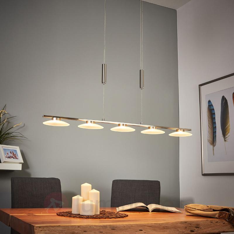Suspension LED à cinq têtes Leovan - Suspensions LED