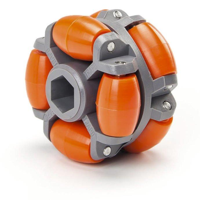 Polydirectional driven roller - ARG series - For smooth and trouble-free handling during conveying, turning and pushing.