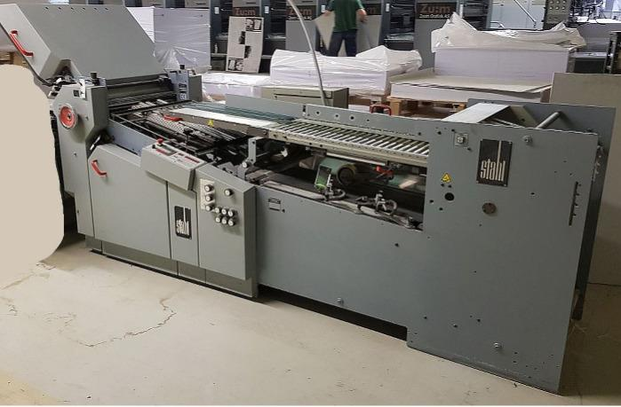 Heidelberg Stahlfolder Ti 55/44-KBK - R - Please ask for price.We ship and install worldwide!