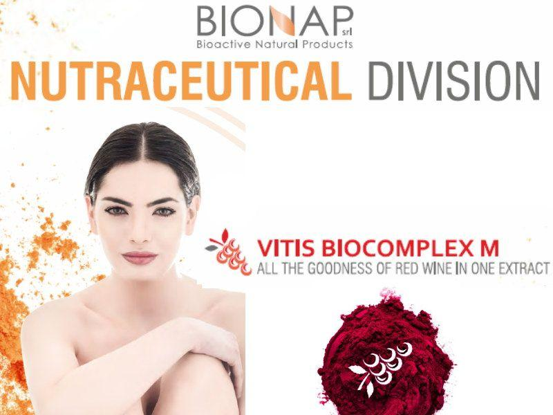 Vitis biocomplex M - Natural nutraceutical ingredients - All the goodness of red wine in one extract