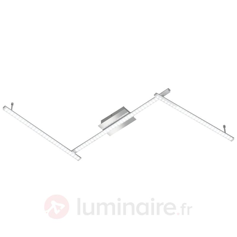 Plafonnier LED Clay en 3 parties - Plafonniers LED