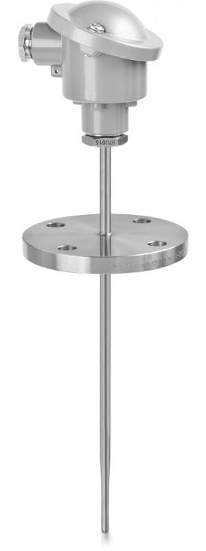 OPTITEMP TCA-F42 - Thermocouple à bride / avec doigt de gant