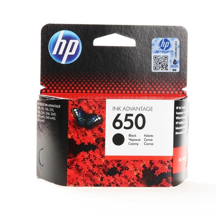 HP CZ101AE orijinal kartus No 650 siyah - siyah mürrekep