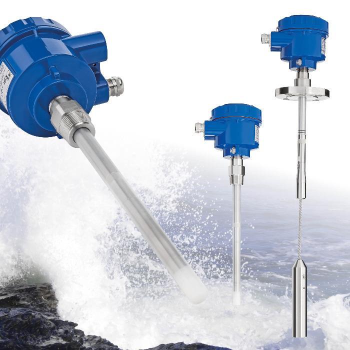 Sensor capacitivo RFnivo® RF8000  - RFnivo® Chave de nível capacitiva