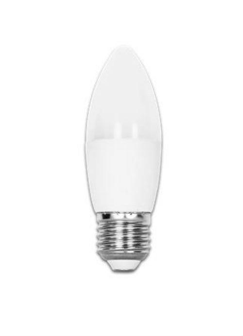 Lampadine LED a candela E27 - 7W opaca 3000/6400K 490lm