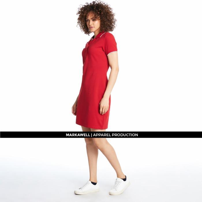 WOMAN POLO DRESS - 2017760190238_1