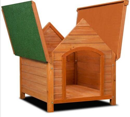 Cute cage for dog - Wooden material