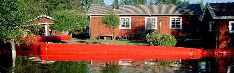 Barrage anti-inondation
