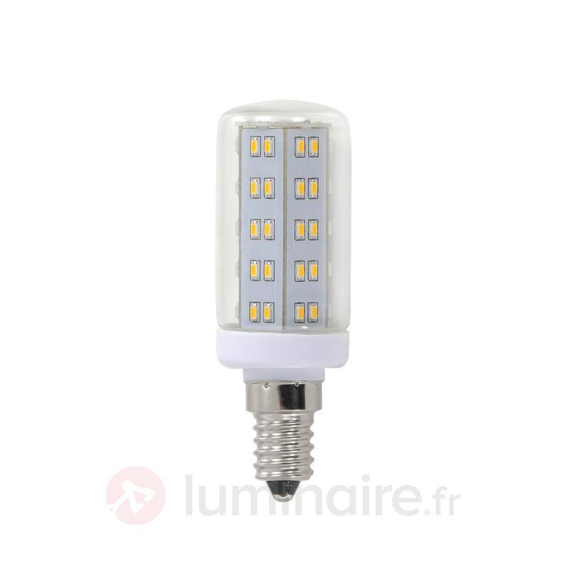 Lampe LED E14 3,8W tubulaire à 69 LED - Ampoules LED E14