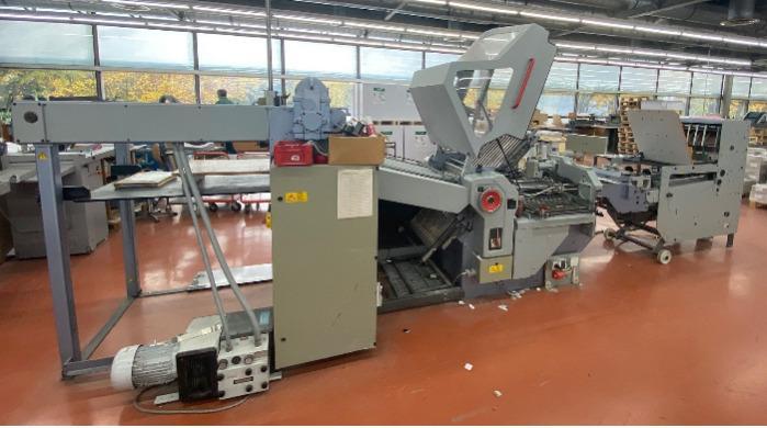 Stahl KD 66/4 KTL-PD Topline - Used Machine