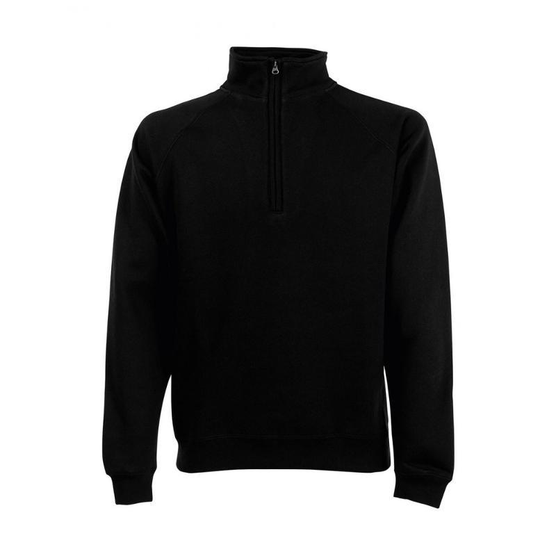 Sweat shirt zip ras de cou - Sans capuche