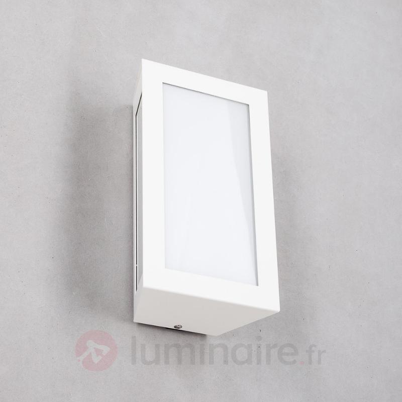 Applique d'extérieur rectangle Whita, sans capteur - Appliques d'extérieur inox