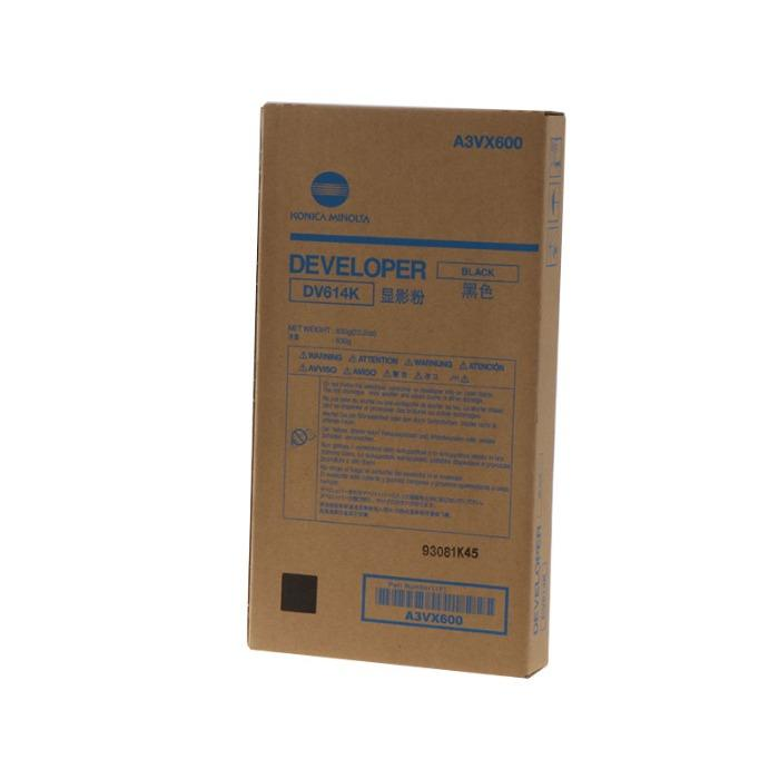 Revelador original de Minolta - Revelador de Minolta A3VX600 Capacidad estándar DV-614BK negro