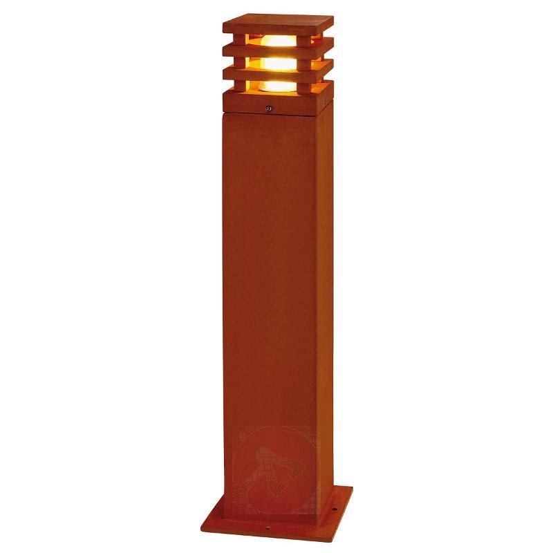 Rusty Square Path Light High-Quality - Path and Bollard Lights