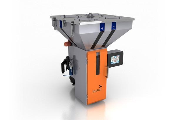 Unidad de dosificación y mezcla gravimétrica - GRAVICOLOR - Dosificación gravimétrica, mezclador por lotes, hasta 6 materiales