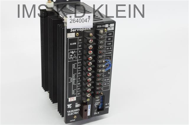 SERVO PACK CPCR-FR01B-T6L AP3,BM,330 - S-2640047