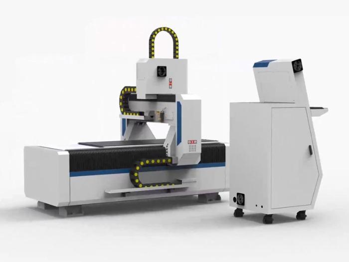 CNC Router with servo motors Milling Engraving Machine - T-Rex Servo-0615 CNC Router with toothed racks, vacuum table and pleat coverings