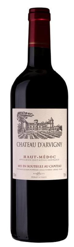 Haut-Médoc wine AOC - Château d'Arvigny