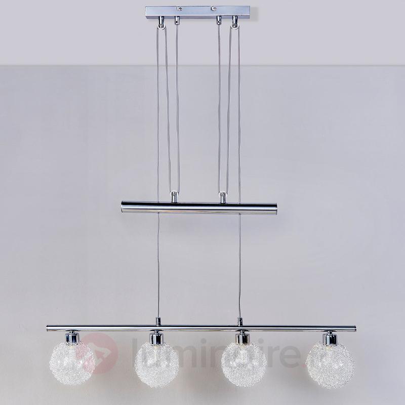Barre d'éclairage suspendue LED Ticino - Suspensions LED