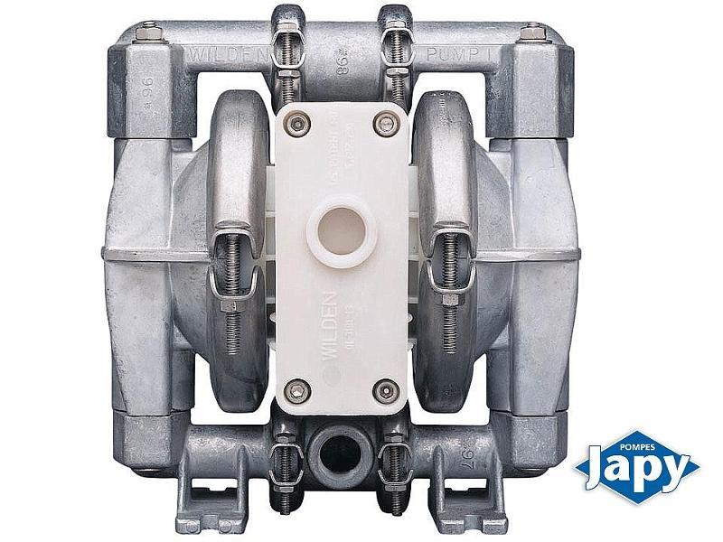 Pompes pneumatiques à membranes - AL1/2PTFE et AL1PTFE - null