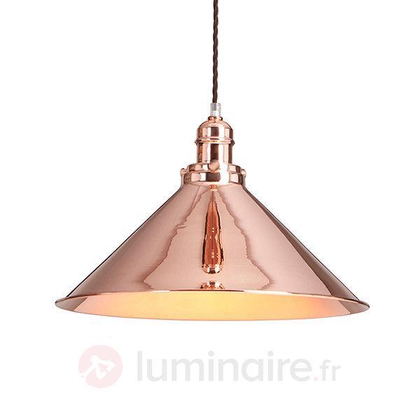 Suspension brillante Provence au design industriel - Cuisine et salle à manger