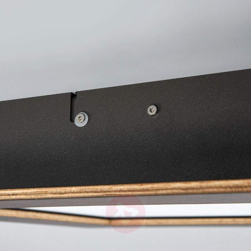 Deno - LED ceiling light made from oak - Ceiling Lights