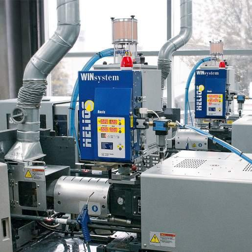 Plastic granules dryer JETBOXX® - Plastic granules dryer for direct mounting on the processing machine