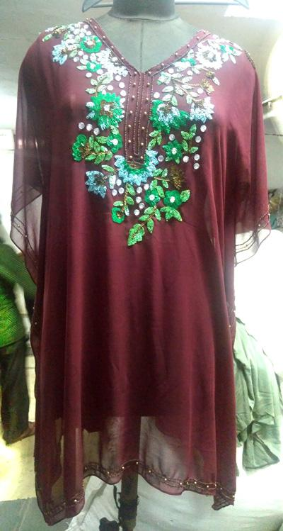 Embroidered Kaftan, Pareo, Capes, Beachwear - Manufacturer, Exporters, Suppliers, India