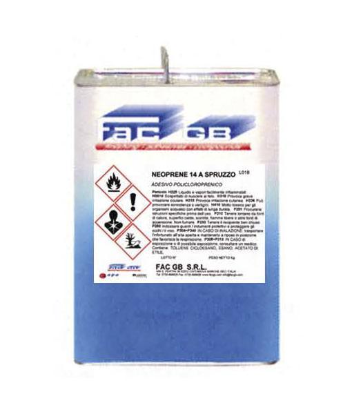 NEOPRENE 14 SPRAYING Plychloroprene Adhesive