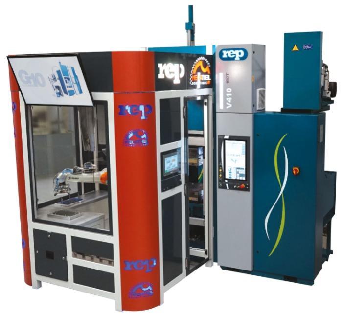 Modèle V410 LSR - Presses à injecter le caoutchouc verticales