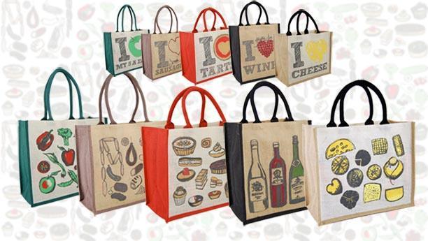 Jute Promotional Bags - Customised Jute Promotional Bags, Printed Jute Tote Bags