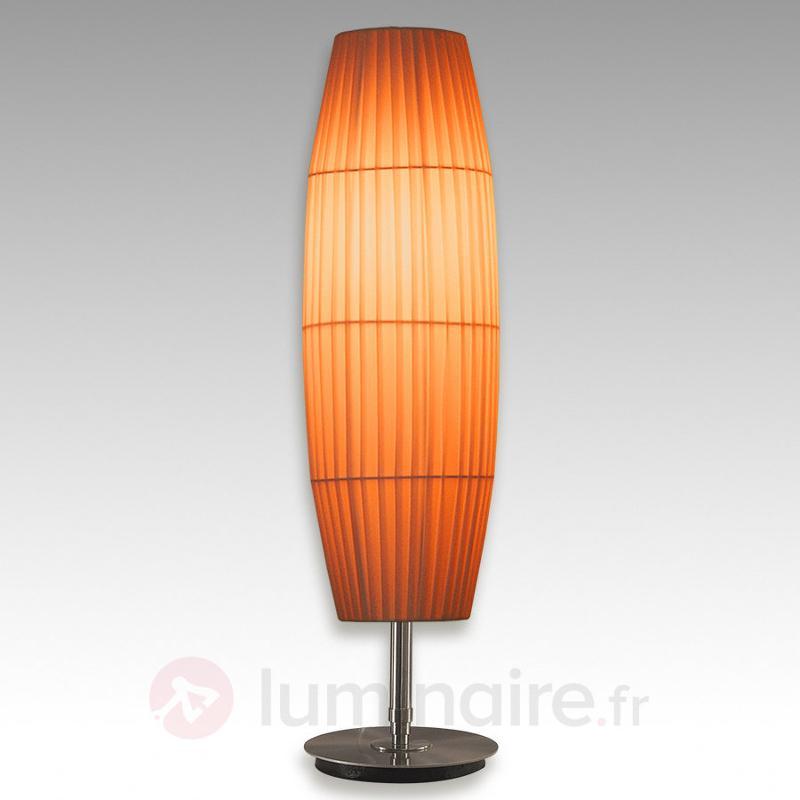 Lampe à poser élégante Sofie - Lampes à poser en tissu
