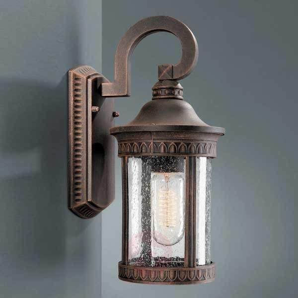 Rustic outdoor wall lamp MURCIA - Outdoor Wall Lights
