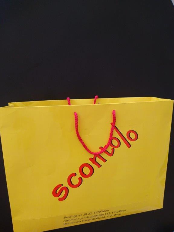 Luxus Papptaschen - Offset bedruckte Luxus Papptaschen