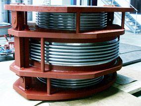 Pressure balanced expansion  - joint DN1000