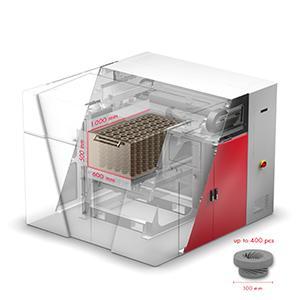 VX1000 - Bauraum LxBxH 1.000 x 600 x 500 mm | Druckauflösung bis zu 600 dpi