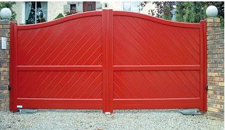 Gate&Shutter - PET Shutter Panel - Closing NOVAFERMT® Powder coating Panel