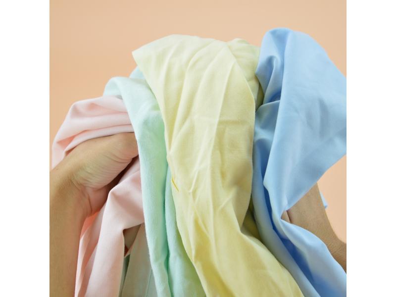Chiffon drap couleur pastel serviette polycoton carton... - Essuyage