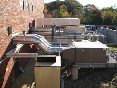 HVAC : chauffage, climatisation - Équipements pour la construction et la viabilisation