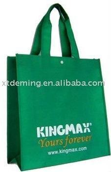 Disposable Non woven Supermarket Shopping Bag, Non-woven Shopping