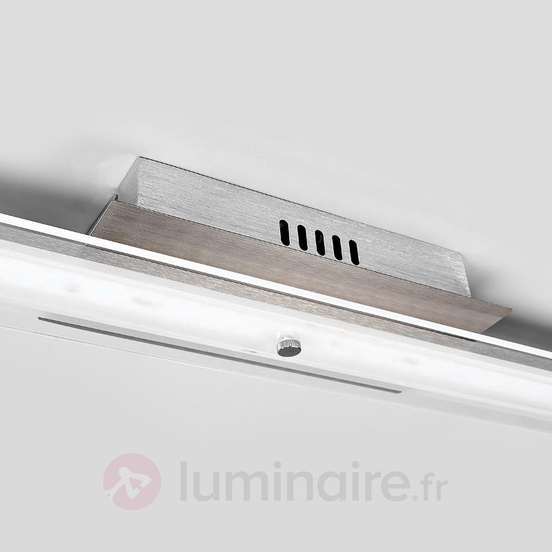 Plafonnier oblong LED Arik - Plafonniers LED
