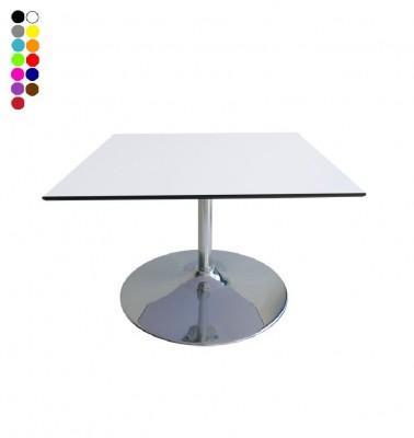 Location de table basse carrée COMPACT pied - null