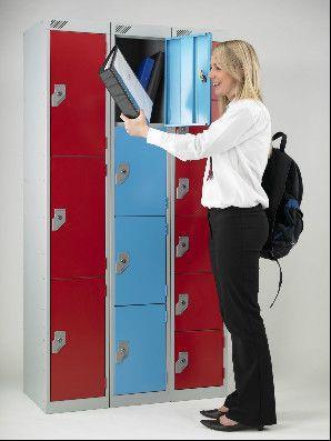 School Lockers - Metal Vedette Lockers