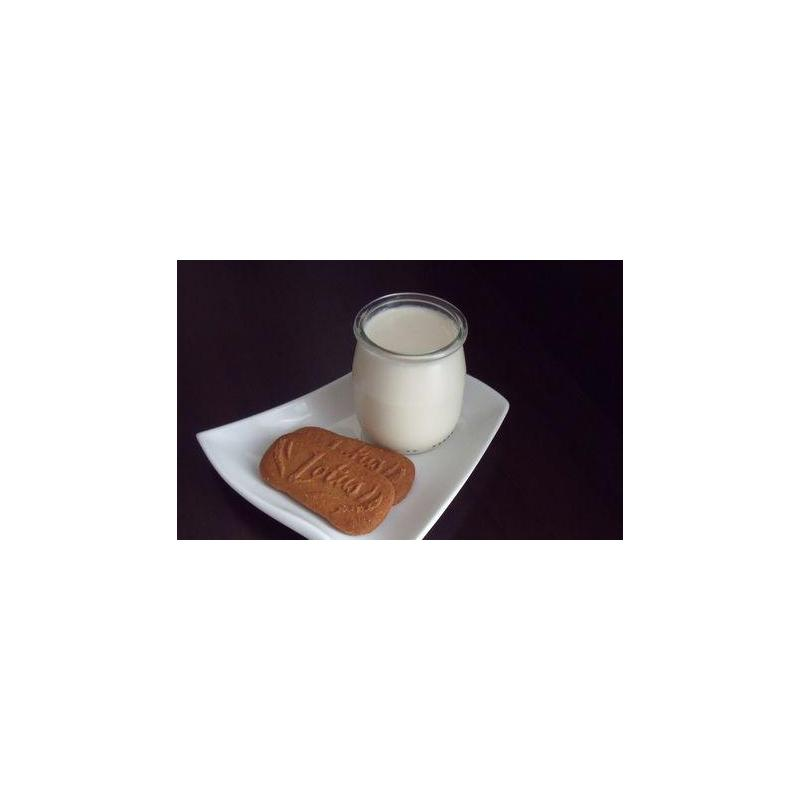 24 yoghurt jars 143 ml (125 gr.)  - with plastic cap included