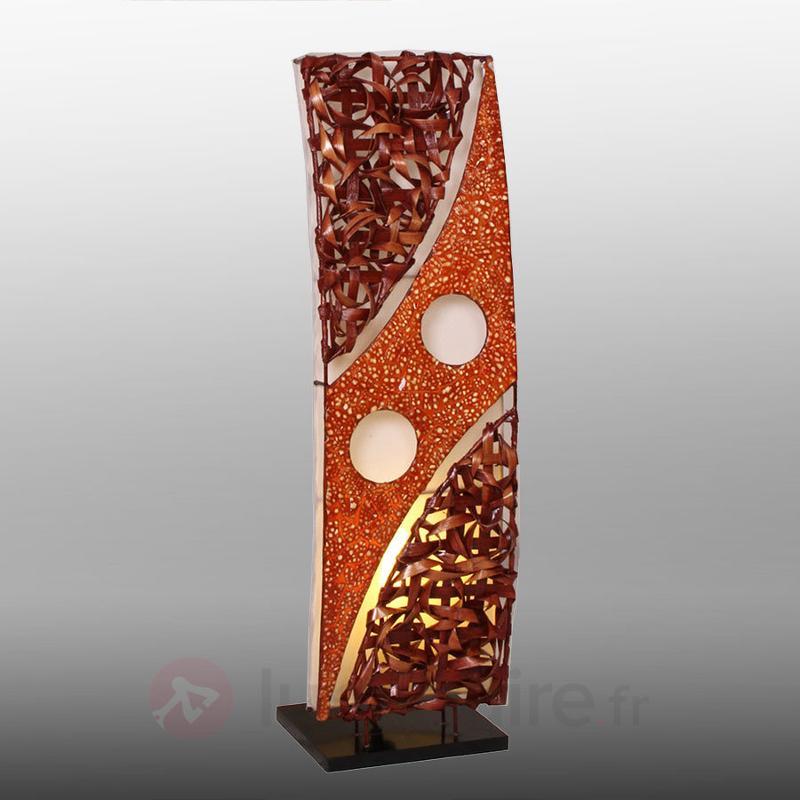Lampadaire courbé Mona 70 cm - Lampadaires en bois