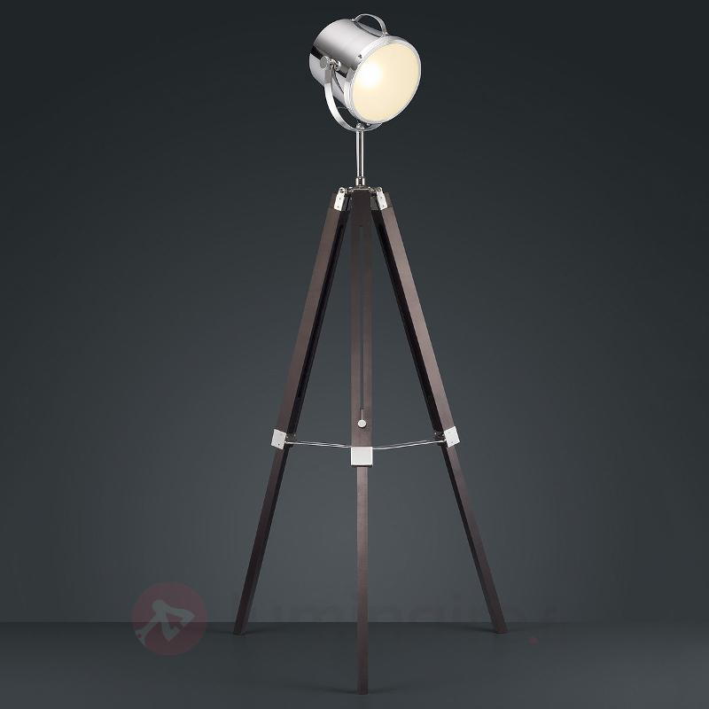 Lampadaire-projecteur Antwerp - Lampadaires en bois