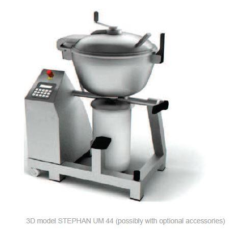 Cutter mélangeur broyeur chocolat ganache sous vide - STEPHAN UM44